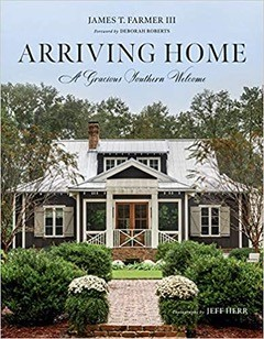 Arriving Home: A Gracious Southern Welcome Book Cover