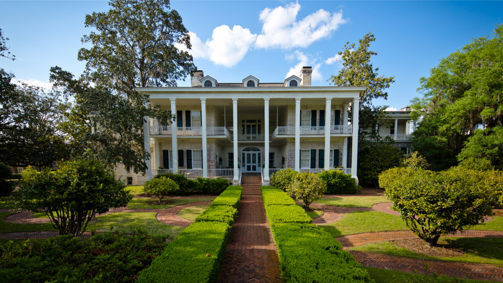 Pebble Hill Plantation Main House Front